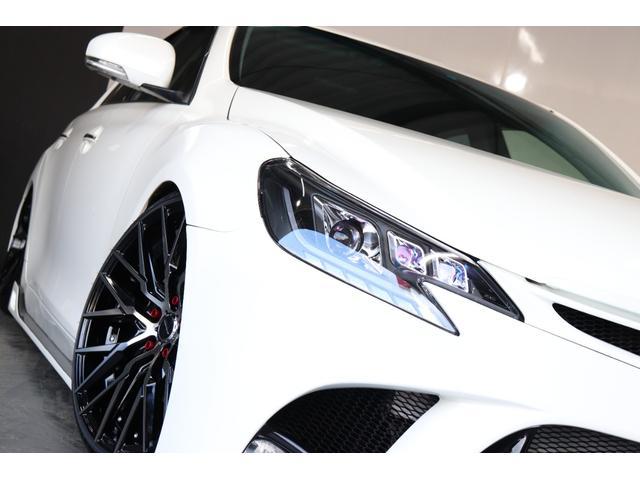 250G サンルーフ/BRASHエアロ/リアG's仕様/新品AMEシュタイナー19AW/新品TEIN車高調/OP付きBRASH三眼ヘッドライト/シーケンシャルスモークテール/Bluetooth/バックカメラ(41枚目)