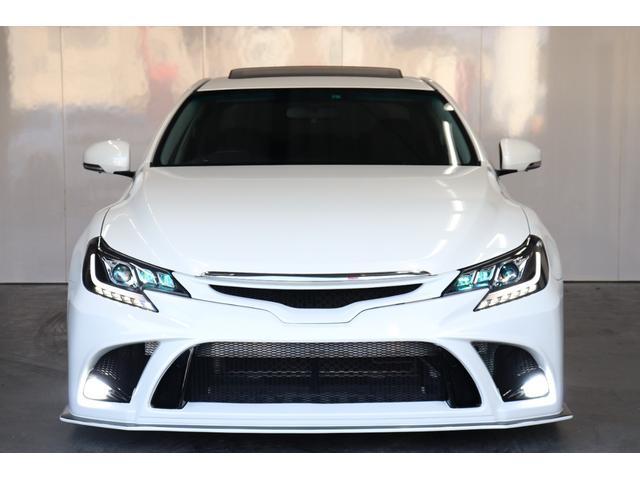 250G サンルーフ/BRASHエアロ/リアG's仕様/新品AMEシュタイナー19AW/新品TEIN車高調/OP付きBRASH三眼ヘッドライト/シーケンシャルスモークテール/Bluetooth/バックカメラ(54枚目)