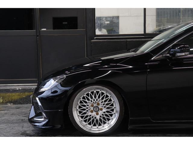 250G リラックスセレクション・ブラックリミテッド カスタムペイントボンネット/RDSバンパー/モデリスタエアロ/リアG's仕様/新品SSRフォーミュラメッシュ19AW/新品TEIN車高調/OP付きBRASHヘッドライト/OP付きスモークテール(12枚目)