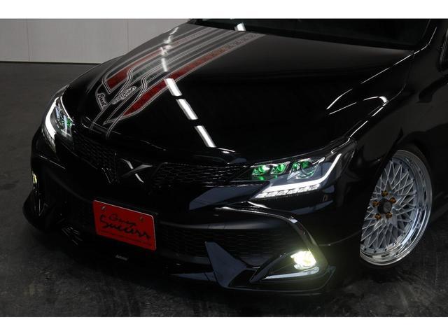 250G リラックスセレクション・ブラックリミテッド カスタムペイントボンネット/RDSバンパー/モデリスタエアロ/リアG's仕様/新品SSRフォーミュラメッシュ19AW/新品TEIN車高調/OP付きBRASHヘッドライト/OP付きスモークテール(15枚目)