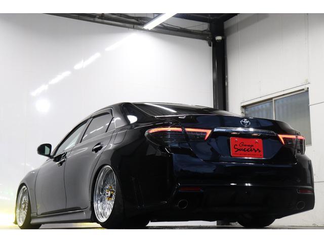250G リラックスセレクション・ブラックリミテッド カスタムペイントボンネット/RDSバンパー/モデリスタエアロ/リアG's仕様/新品SSRフォーミュラメッシュ19AW/新品TEIN車高調/OP付きBRASHヘッドライト/OP付きスモークテール(41枚目)
