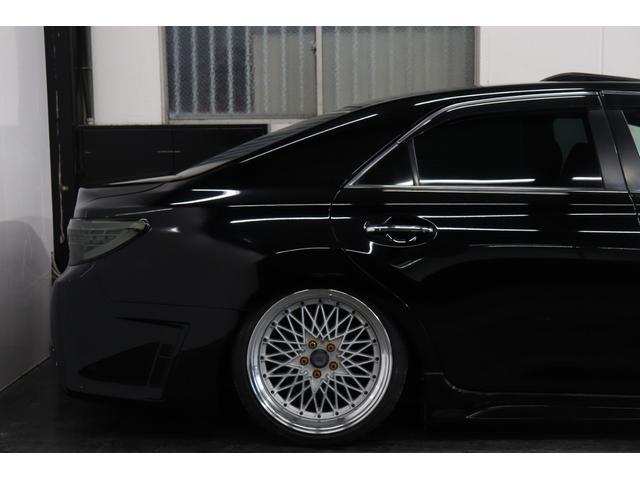 250G リラックスセレクション・ブラックリミテッド カスタムペイントボンネット/RDSバンパー/モデリスタエアロ/リアG's仕様/新品SSRフォーミュラメッシュ19AW/新品TEIN車高調/OP付きBRASHヘッドライト/OP付きスモークテール(44枚目)