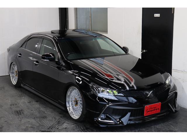 250G リラックスセレクション・ブラックリミテッド カスタムペイントボンネット/RDSバンパー/モデリスタエアロ/リアG's仕様/新品SSRフォーミュラメッシュ19AW/新品TEIN車高調/OP付きBRASHヘッドライト/OP付きスモークテール(46枚目)