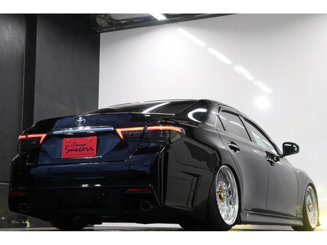 250G リラックスセレクション・ブラックリミテッド カスタムペイントボンネット/RDSバンパー/モデリスタエアロ/リアG's仕様/新品SSRフォーミュラメッシュ19AW/新品TEIN車高調/OP付きBRASHヘッドライト/OP付きスモークテール(50枚目)
