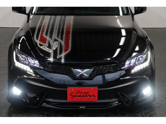 250G リラックスセレクション・ブラックリミテッド カスタムペイントボンネット/RDSバンパー/モデリスタエアロ/リアG's仕様/新品SSRフォーミュラメッシュ19AW/新品TEIN車高調/OP付きBRASHヘッドライト/OP付きスモークテール(54枚目)
