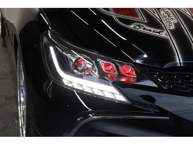 250G リラックスセレクション・ブラックリミテッド カスタムペイントボンネット/RDSバンパー/モデリスタエアロ/リアG's仕様/新品SSRフォーミュラメッシュ19AW/新品TEIN車高調/OP付きBRASHヘッドライト/OP付きスモークテール(57枚目)