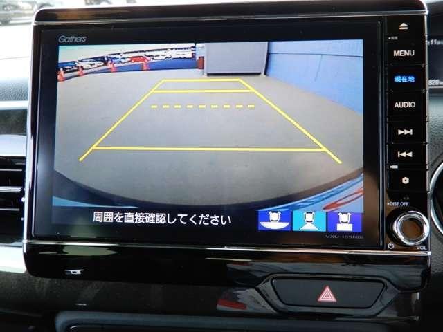 ホンダ N BOXカスタム G・EXターボホンダセンシング デモカー ETC フルセグ
