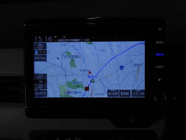 Lホンダセンシング 当社デモカー(試乗車)大画面8インチ純正インターナビ+リアカメラ+ETC 衝突軽減ブレーキ サイド&カーテンエアバッグ リアセンサー(3枚目)