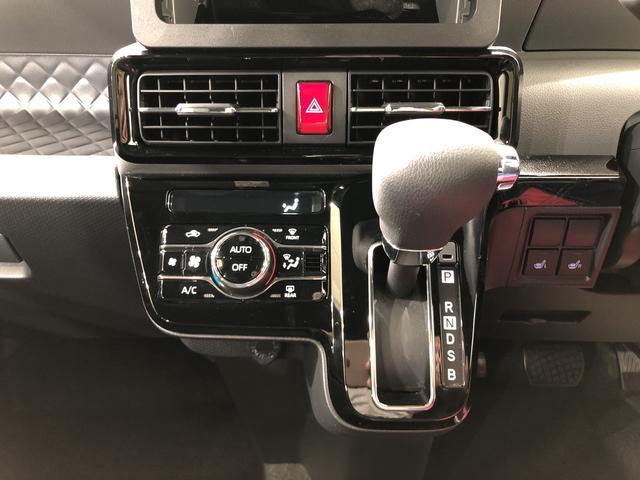 カスタムXセレクション 4WD キーフリー 両側電動スライドドア 衝突被害軽減システム(10枚目)