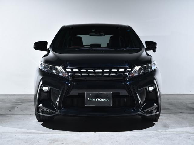 トヨタ ハリアー エレガンスWALDブラックバイソンフルコンプリート22AW