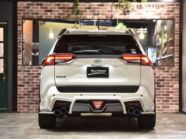 G ロジャム フルコンプリート 22アルミ 車高調 サンルーフ 4WDセーフティセンス 塗分け塗装 USB 4本出しマフラー デジタルインナーミラー(18枚目)