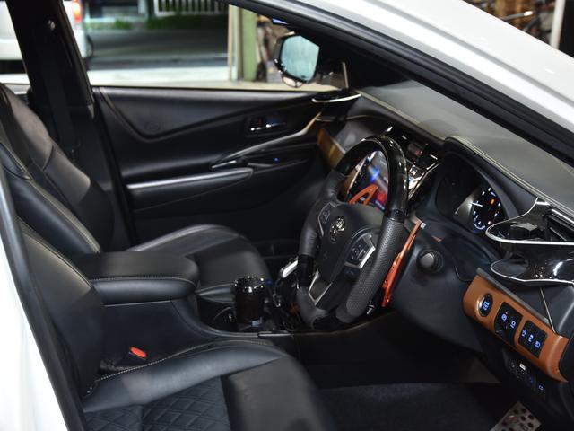 プレミアム ロジャムフルエアロ 塗り分け塗装 バックフォグ付き 車高調 アビー22AW アルパインBIG-X9インチ アルパインヘッドレストモニターETCパワーバックドア コンビハンドル ロジャムマフラー4本出し(48枚目)