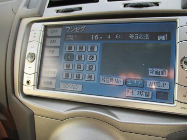トヨタ ヴィッツ FリミテッドII SDナビ1セグTV ETC スマートキー