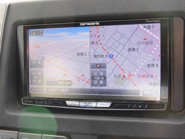Z Xバージョン  HDDナビ フルセグTV ローダウン(2枚目)