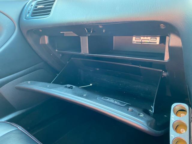 S300ベルテックスエディション 社外ナビ フルセグ ETC 社外ヘッドライト 19インチアルミホイール 2本出しマフラー 社外フェンダー・バンパー・テールランプ タイミングベルト交換済み(24枚目)