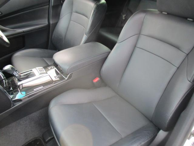 250G Sパッケージリラックスセレクション 黒革シート(10枚目)