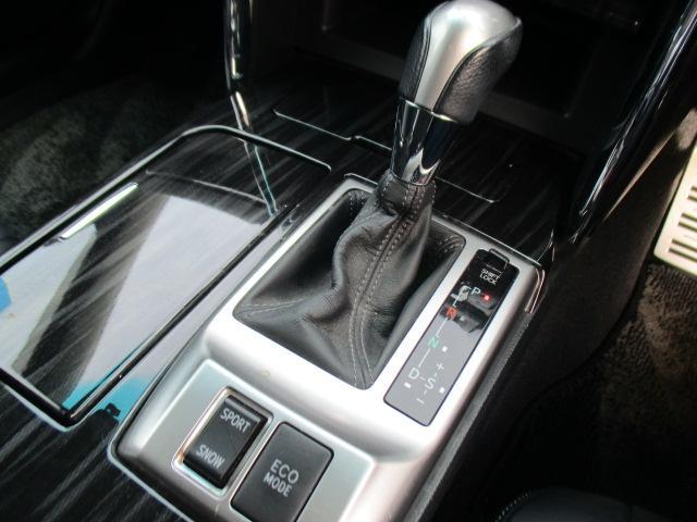 250G Sパッケージリラックスセレクション 黒革シート(16枚目)