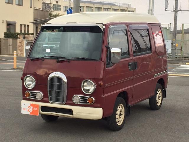 スバル サンバーディアス ディアス クラシック タイミングベルト交換済 4WD