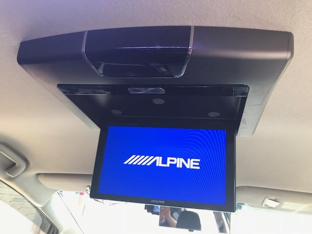 トヨタ プリウスアルファ G's  アルパイン9型ナビ・フリップダウンモニター