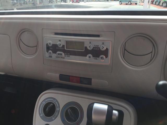 純正CDチューナー装備!
