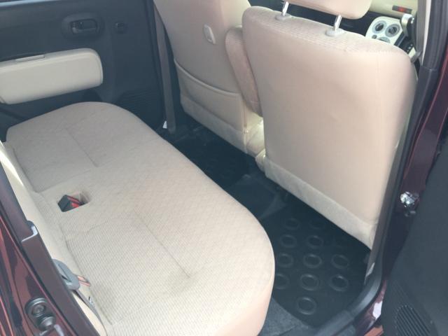 後部座席もゆとりあるスペースを!
