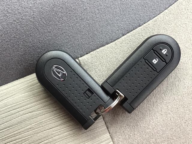 鍵はハッグやポケットにしまったままドアの施錠・解錠ができます♪盗難防止装置付きですので、セキュリティも安心です!