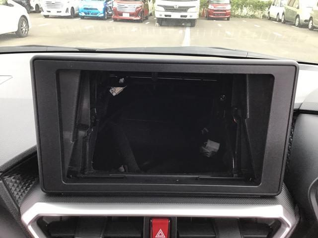 今は新車時の状態がオーディオレス仕様が標準装備となります。スマホやパソコン選び同様、お客様に満足頂けるダイハツ純正のカーナビ選びもスタッフにお任せ下さい♪