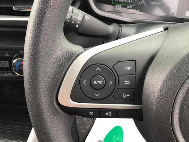"""ハンドルから手を離さず純正ナビのオーディオ操作が行える""""ステアリングスイッチ""""・駐車時に安心のバックモニター"""