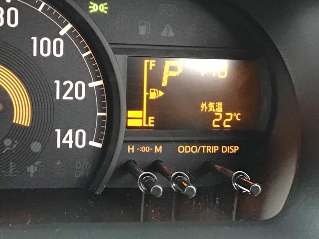 メーター内には、外気温計!様々な情報が表示されます♪