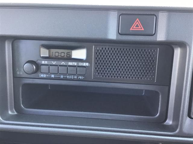 純正AM/FMラジオ付き付き車両になります。