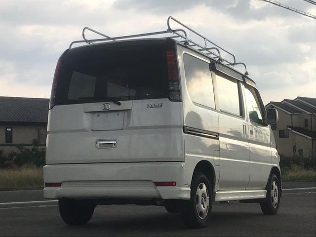 ホンダ バモス M タイミングベルト交換済 ナビ ETC フラットシート