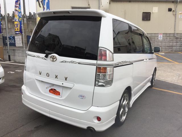 トヨタ ヴォクシー 電動パワースライドドアナビBカメラフルエアロETC