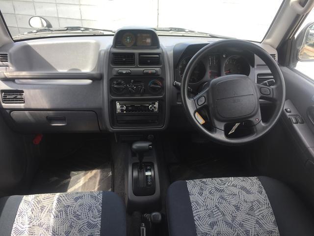 三菱 パジェロミニ VR-II ターボ 寒冷地仕様 カロッツェリアオーディオ