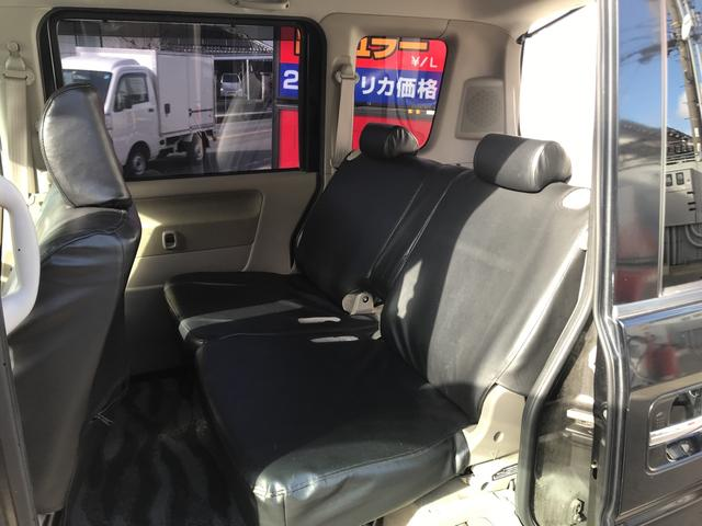 PZターボ 左電動ドア 黒革調シートカバー(11枚目)