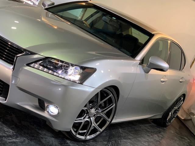 GS350 Ipkg 新品車高調 新品20AW 黒革 ナビ(14枚目)
