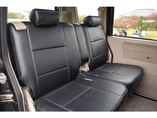 スズキ エブリイワゴン 660 JPターボ ETC 黒革調シートカバー キーレス