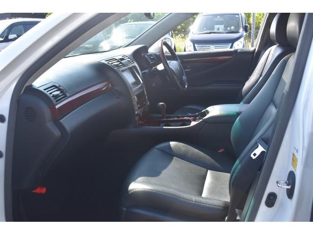 LS460 バージョンS Iパッケージ バックカメラ ナビ ETC シートヒーター 禁煙車 パワーシート CD DVD(13枚目)