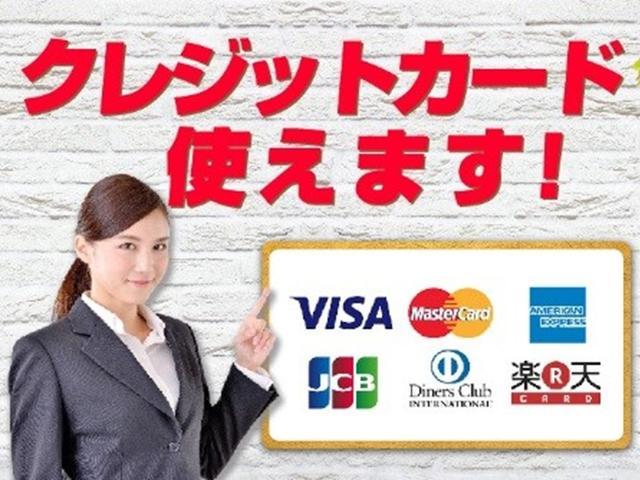 各種クレジットカードのご利用も可能となっております!!車両価格の頭金、カスタム、整備、車検等でご利用下さい♪