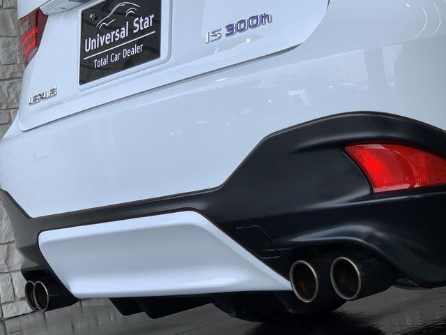 IS300h FスポーツTRDエアロ/新品BLK塗装済AW(55枚目)