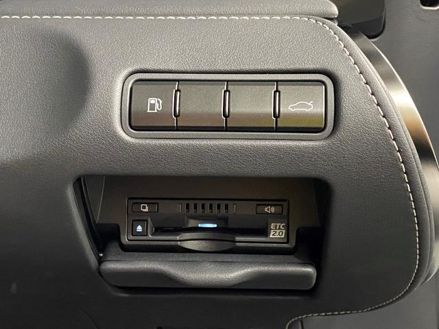 LC500 Sパッケージ 正規品TRDフルエアロKIT 正規品TRDトランクスポイラー オプション21AW CFRPカーボンルーフ カーボンインテリアパネル 電動リアウイング 赤黒コンビベンチレーターシート ビルトインETC(16枚目)