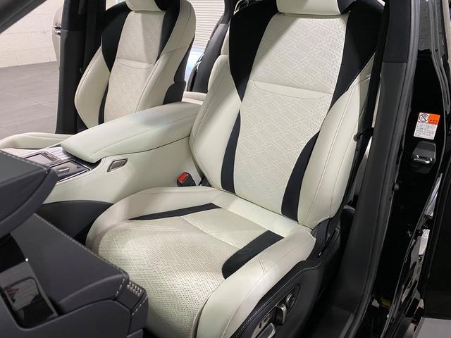 LS500 Fスポーツ レクサス新車保証継承可能 レクサスセーフティプラス 純正エンジンスターター 純正ドラレコ 本革シート 360度カメラ パワートランク AC100Vコンセント 3眼フルLEDヘッドライト ETC2.0(18枚目)