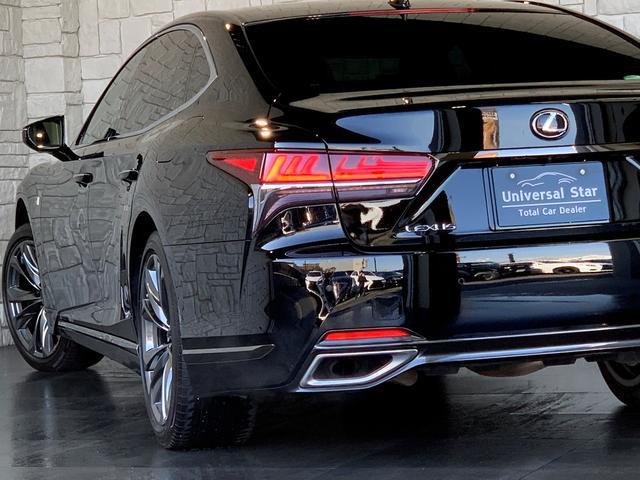 LS500 Fスポーツ レクサス新車保証継承可能 レクサスセーフティプラス 純正エンジンスターター 純正ドラレコ 本革シート 360度カメラ パワートランク AC100Vコンセント 3眼フルLEDヘッドライト ETC2.0(54枚目)