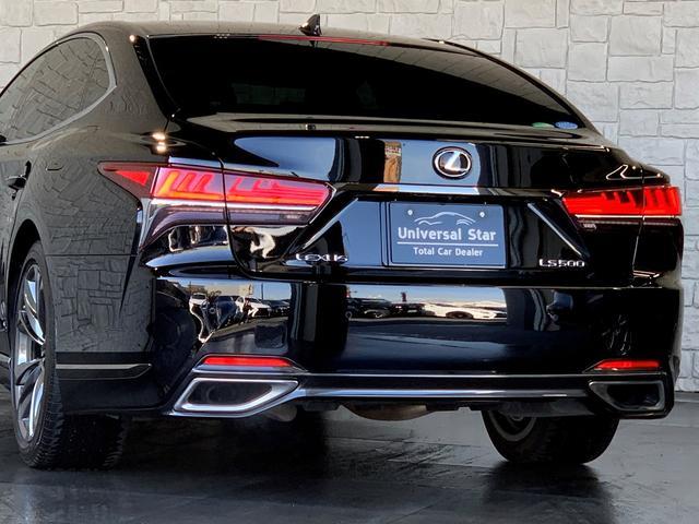 LS500 Fスポーツ レクサス新車保証継承可能 レクサスセーフティプラス 純正エンジンスターター 純正ドラレコ 本革シート 360度カメラ パワートランク AC100Vコンセント 3眼フルLEDヘッドライト ETC2.0(57枚目)