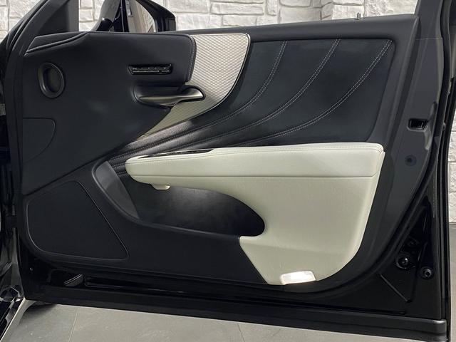 LS500 Fスポーツ レクサス新車保証継承可能 レクサスセーフティプラス 純正エンジンスターター 純正ドラレコ 本革シート 360度カメラ パワートランク AC100Vコンセント 3眼フルLEDヘッドライト ETC2.0(61枚目)