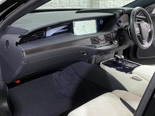 LS500 Fスポーツ レクサス新車保証継承可能 レクサスセーフティプラス 純正エンジンスターター 純正ドラレコ 本革シート 360度カメラ パワートランク AC100Vコンセント 3眼フルLEDヘッドライト ETC2.0(62枚目)
