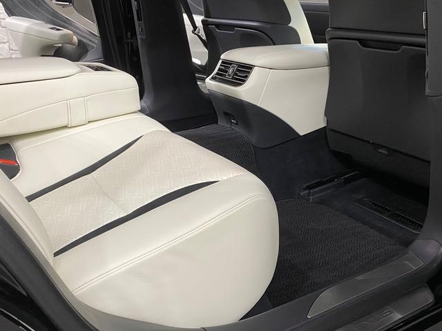 LS500 Fスポーツ レクサス新車保証継承可能 レクサスセーフティプラス 純正エンジンスターター 純正ドラレコ 本革シート 360度カメラ パワートランク AC100Vコンセント 3眼フルLEDヘッドライト ETC2.0(78枚目)