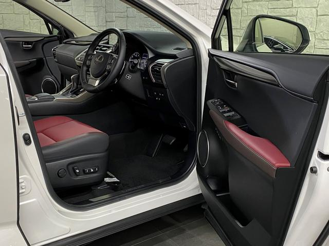 NX300 Iパッケージ 後期モデル レクサスセーフティシステム 赤本革パワーシート 360度パノラミックビューカメラ 3眼フルLEDヘッドライト シーケンシャルウインカー ドラレコ  ビルトインETC2.0 電動バックドア(60枚目)