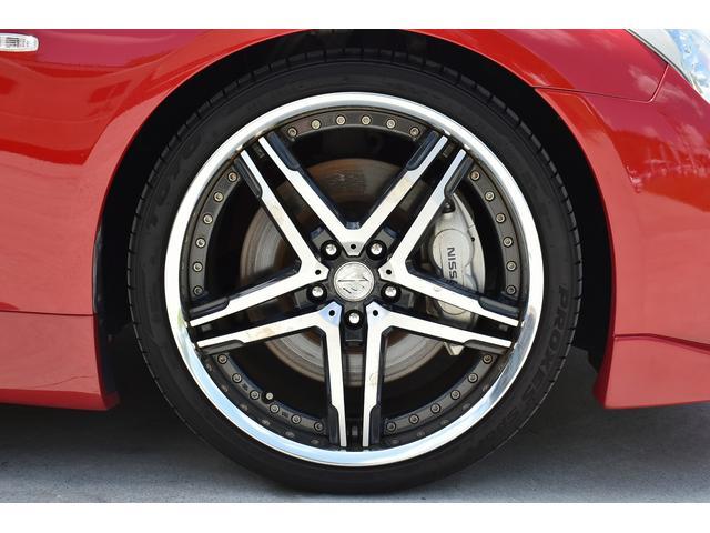370GT タイプS 純正HDDナビ ブリッツ車高調 フジツボマフラー Defi3連追加メーター スマートキー(19枚目)