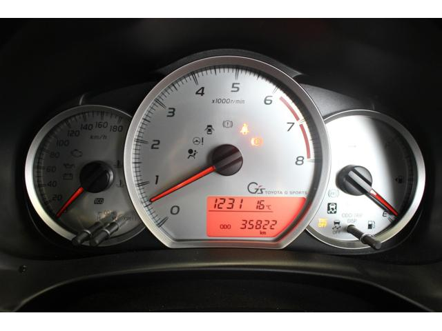 トヨタ ヴィッツ RS G's ルーフスポイラー ディーラーOPナビ
