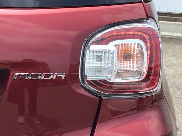 モーダ S キーレス 一年保証 ナビTV バックカメラ ETC 黒ルーフ 衝突軽減ブレーキ スマートキー プッシュスタート LEDヘッドライト(10枚目)